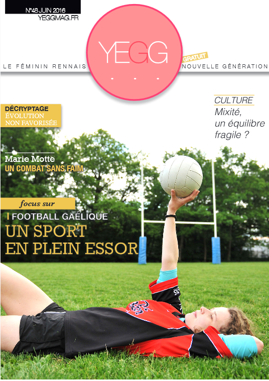 2016 juin yegg magazine rennes gaa féminines ar gwazi gouez gaelic football club