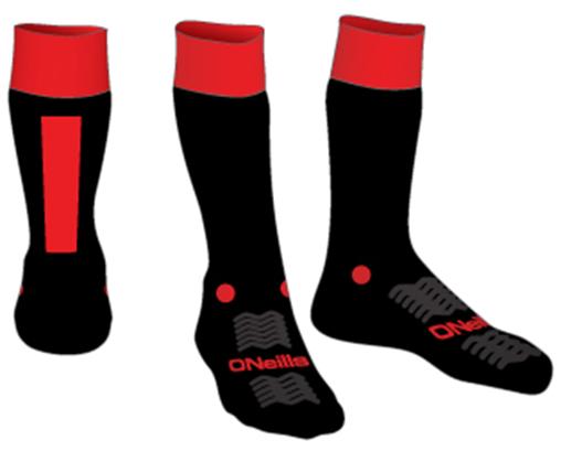 chaussettes rennes gaa rouge ennes gaa ar gwazi gouez gaelic football club