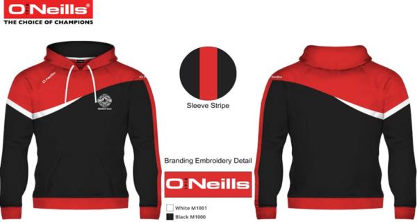 hoodie rennes gaa ar gwazi gouez gaelic football club