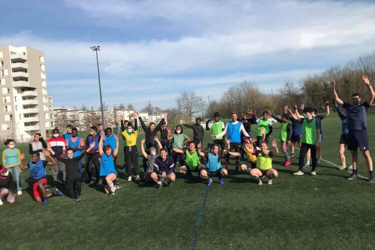 rennes gaa ar gwazi gouez initiation solidarité inclusion sport
